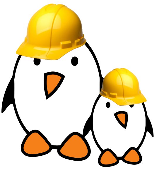 Free Electrons penguins at work