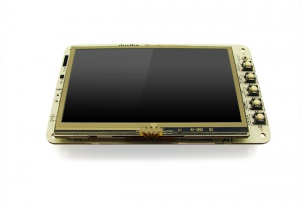 BeagleBone Black with 4.3 inch LCD touchscreen