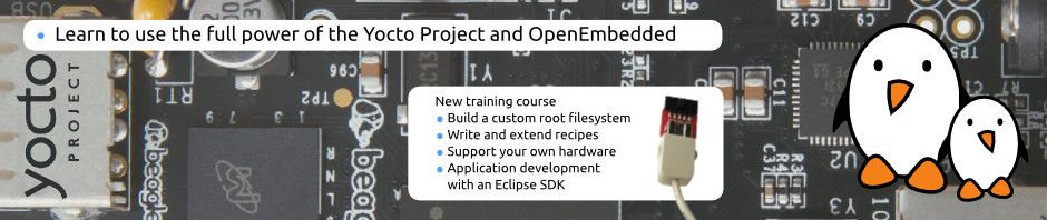Yocto and OpenEmbedded development course
