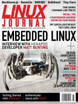 Linux Journal 206 Cover