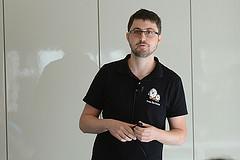 Boris Brezillon giving his DRM/KMS talk