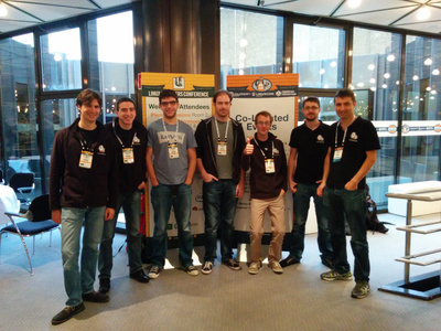 Bootlin engineering team at the Embedded Linux Conference Europe 2014
