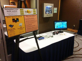 Buildroot demonstration at ELC 2015 technical show case