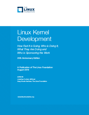 Linux Kernel Development Report 2016