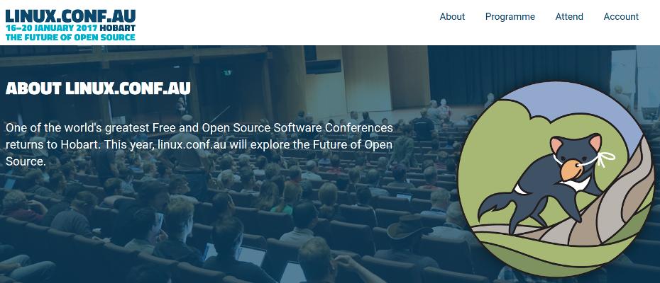 Linux Conf Australia 2017