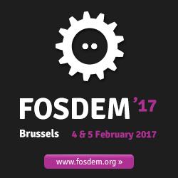 FOSDEM 2017