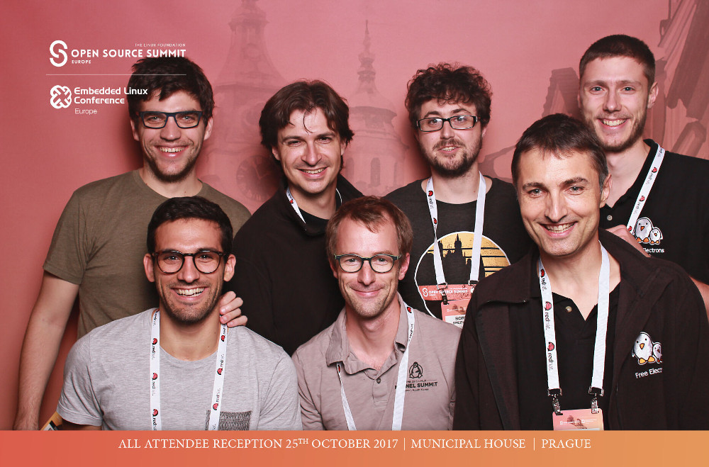 Bootlin team at the Embedded Linux Conference Europe 2017