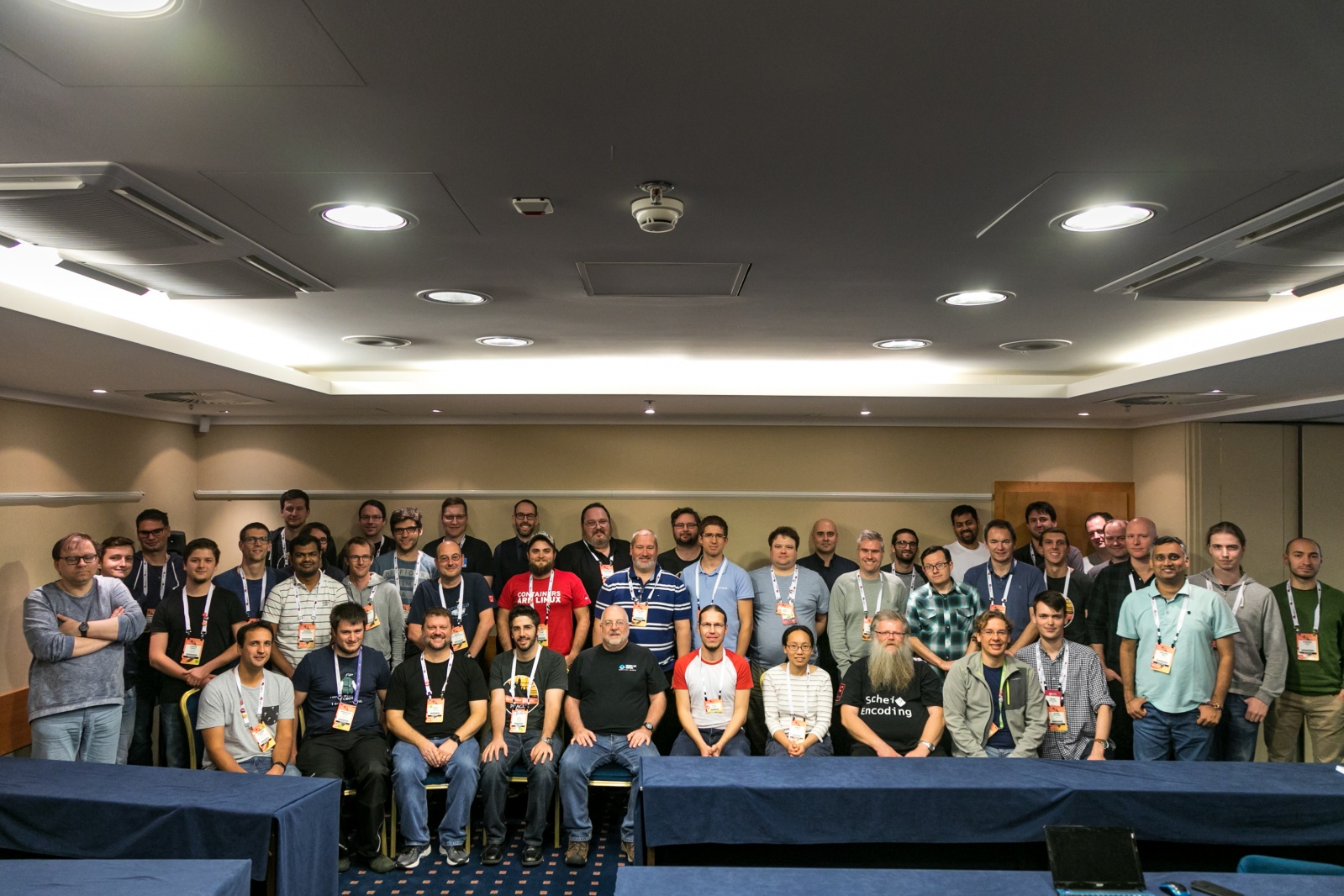 Device Tree Workshoup group photo 2017