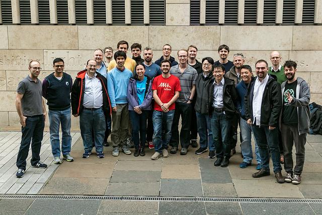 Linux Media Summit attendees