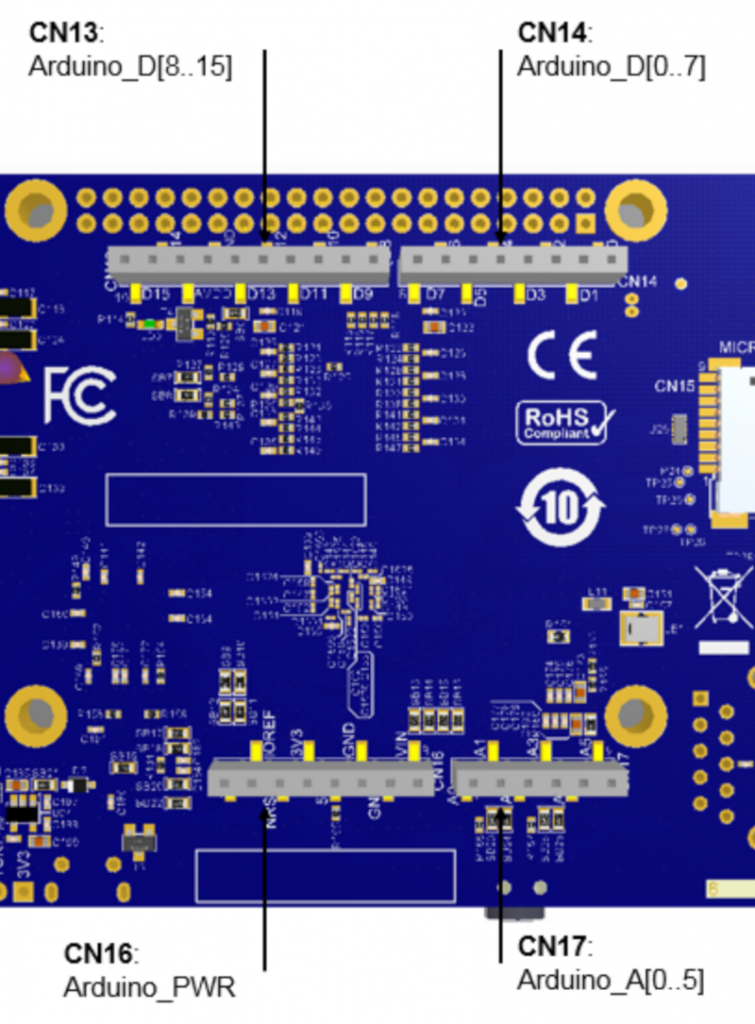 Building a Linux system for the STM32MP1: connecting an I2C