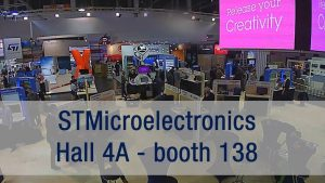 STMicro at Embedded World 2020