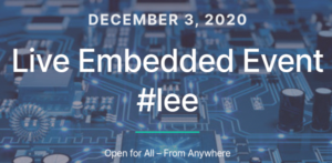 Live Embedded Event