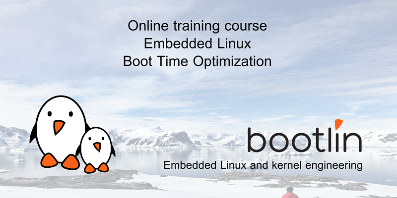 Embedded Linux boot time optimization