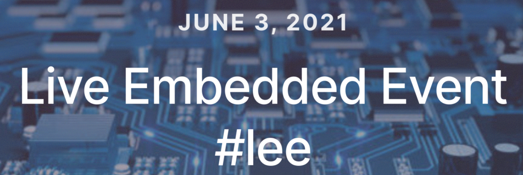 Live Embedded Event #2